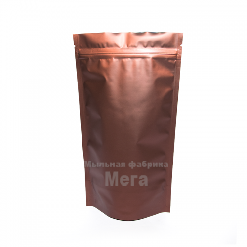 Купить  Дой-Пак 500г коричневый 180х280, 1 шт  в  Мыльная фабрика