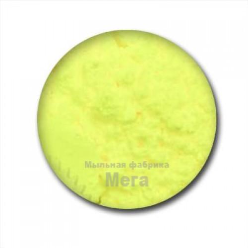 Купить  Флуоресцентный пигмент Желто Лимонный, НХ 10, 1 кг  в  Мыльная фабрика