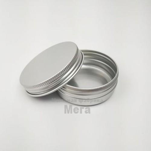 Купить  Баночка алюминиевая 50 мл  в  Мыльная фабрика