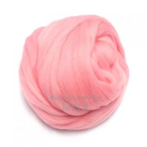 Купить  Австралийский меринос 24 мкм нежно-розовый, 25 гр  в  Мыльная фабрика