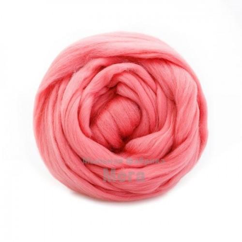 Купить  Австралийский меринос Розовый 24 микрона 25гр  в  Мыльная фабрика