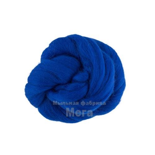 Купить  Австралийский меринос синий 24 микрона 25гр  в  Мыльная фабрика