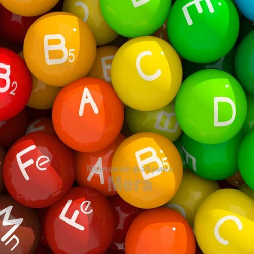 Купить  Complex Vitamins AECF - водорастворимый актив, 10 мл  в  Мыльная фабрика