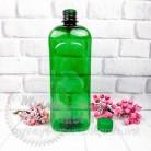 Купить  Бутылка зеленая пластик, 1 л  в  Мыльная фабрика