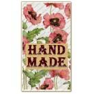 Купить  Бирка декоративная Маки (набор 5 шт)  в  Мыльная фабрика