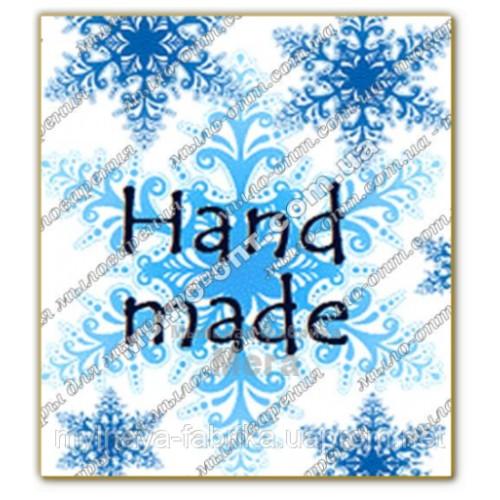 Купить  Бирка декоративная Снежная  в  Мыльная фабрика