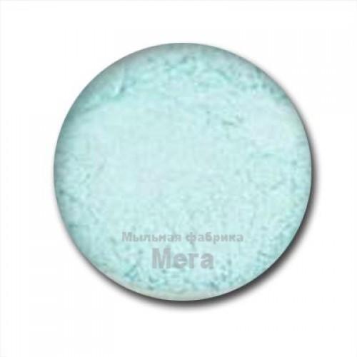 Купить  Блестки пищевые Голубой топаз, 5 грамм  в  Мыльная фабрика