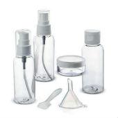 Бутылочки для косметики, дозаторы, пульверизаторы